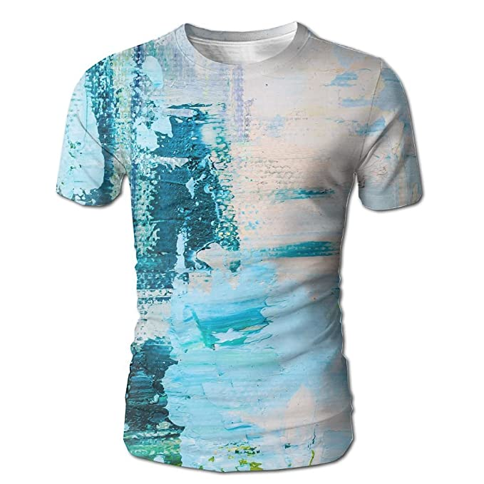c28c6800a Amazon.com: JeanCo Mens Hand Drawn Oil Painting Abstract Art Background Oil  Painting On Canvas Color Texture Fragment Funny Tshirt White: Clothing