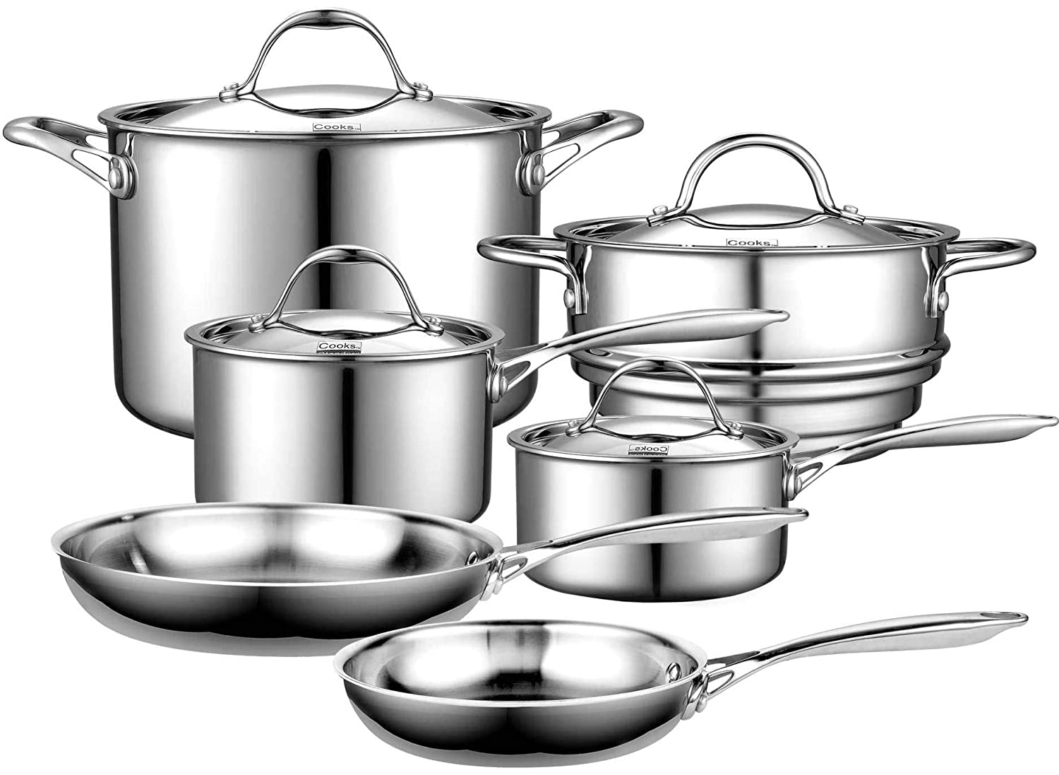 Top 5 Best Stainless Steel Cookware (2020 Reviews & Buying Guide) 5