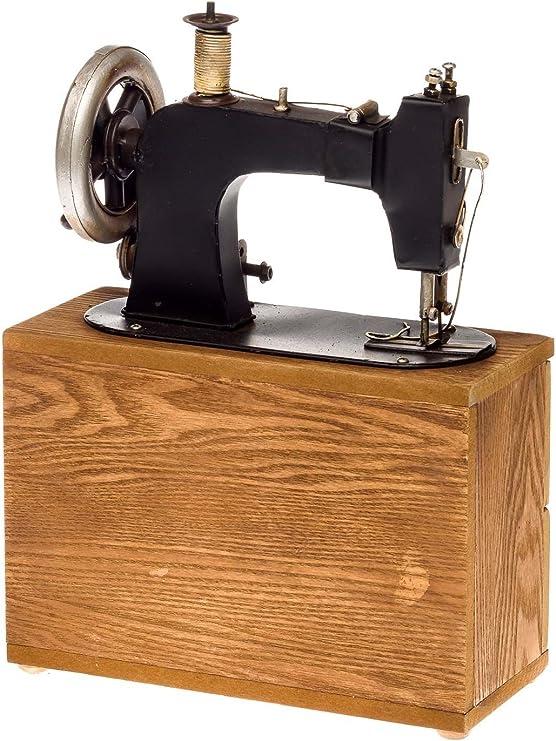 Aubaho Máquina de Coser sin función decoración alhajero Modelo Estilo Antiguo: Amazon.es: Hogar