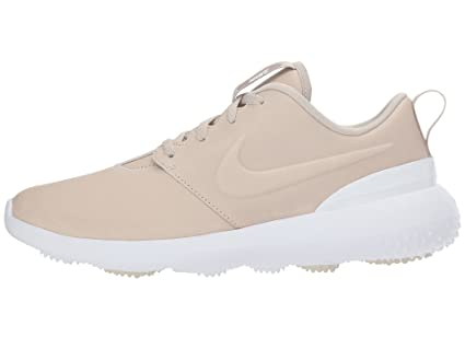 watch 3b24e 9365d Nike Roshe G PRM Spikeless Golf Shoes 2018 Women Light BoneLight BoneWhite