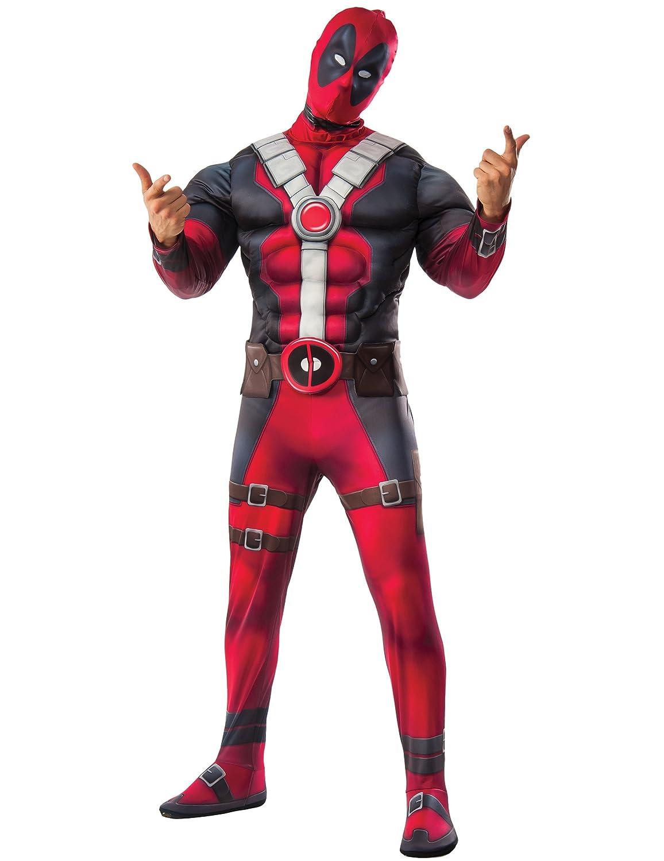 Generique Deadpool Kostüm für Herren Lizenzartikel rot-blau rot-blau rot-blau XL cf3b8a