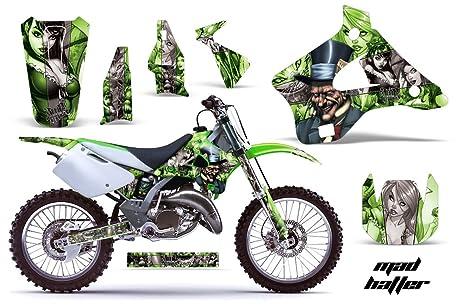 Amazoncom Kawasaki KX KX MX Dirt Bike Graphic - Decal graphics for dirt bikes
