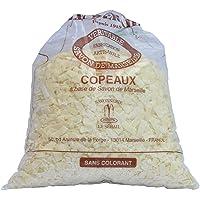 Copos de jabón de Marsella, 1 kg – aroma de flor de algodón – detergente con jabón de Marsella – fabricado…