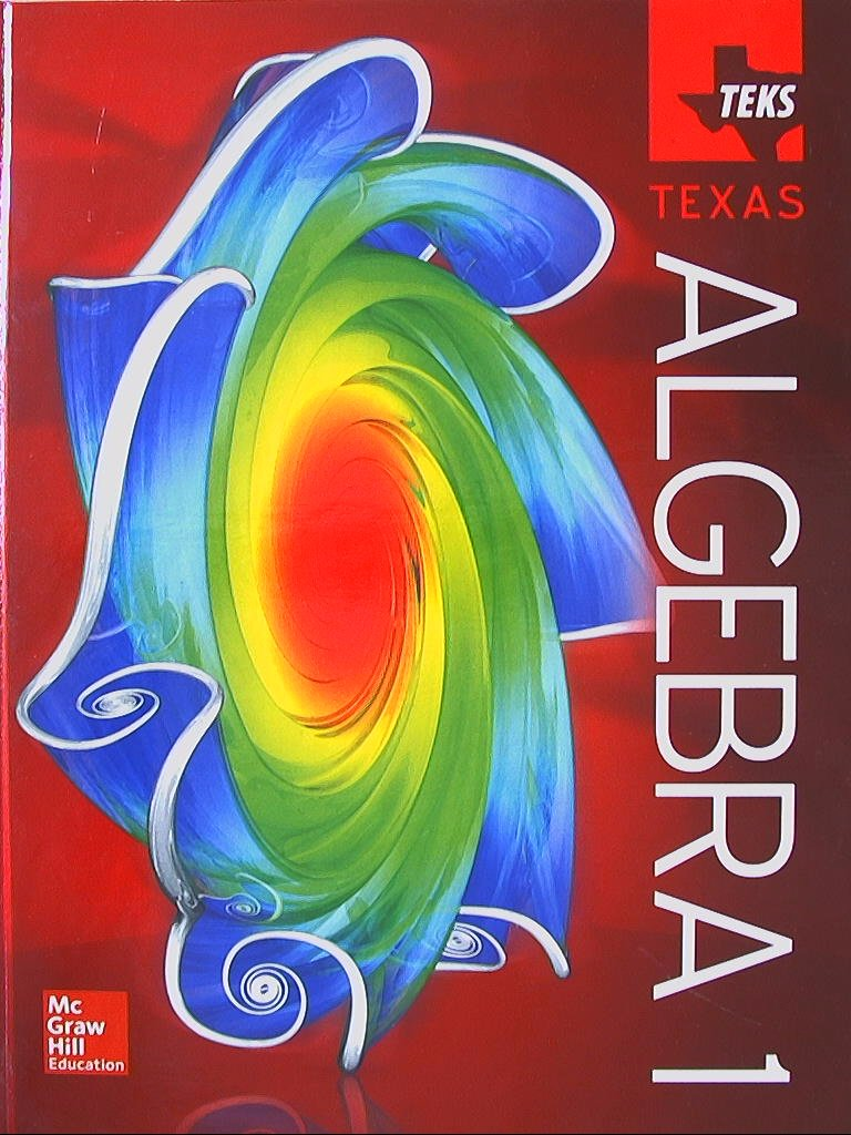 worksheet Glencoe Mcgraw Hill Algebra 1 Worksheet Answers teks texas algebra 1 9780021402465 0021402469 amazon com books