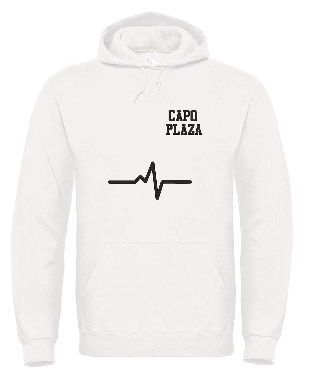Vestin Felpa Uomo con Cappuccio Bhmg Made in Italy