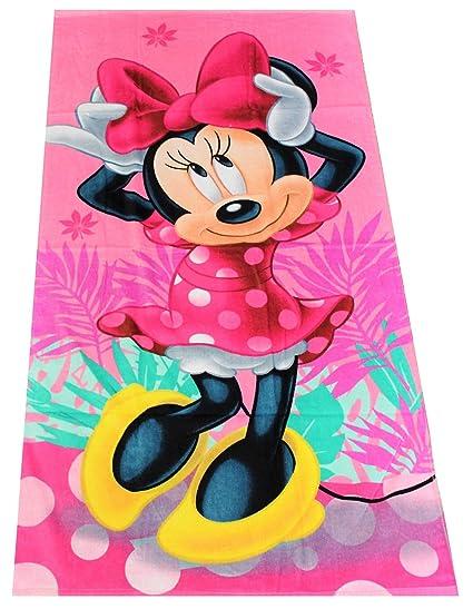 toallas de cara 35/* 65/cm Disney Minnie Mouse Toallas de mano 2/unidades