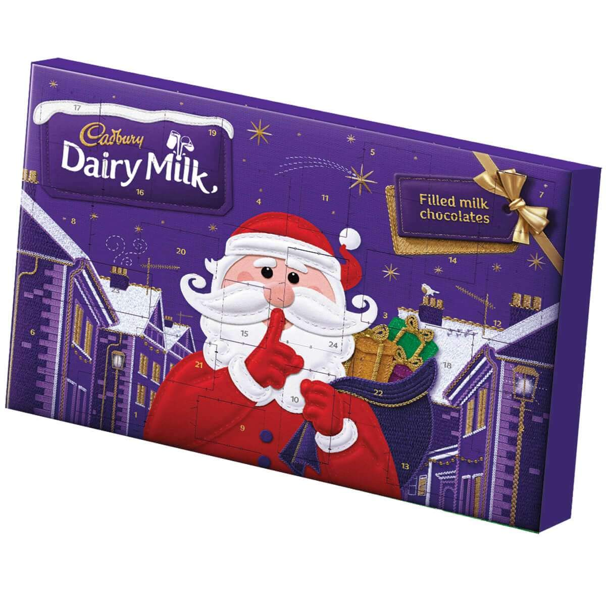 Cadbury Premier League latte calendario dell avvento Treat Club selezione confezione 200/ g