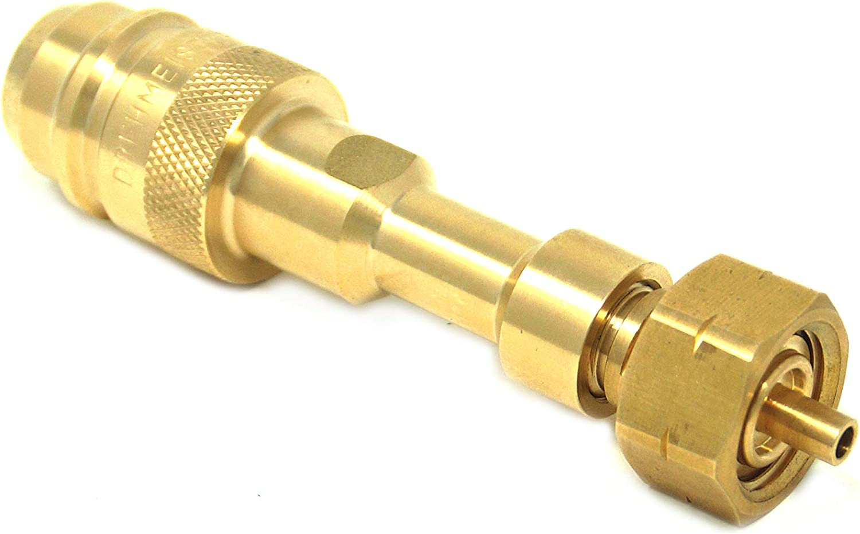 Adaptador de depósito con Boquilla integrada para el llenado de Botellas de Gas (11kg, 33kg)