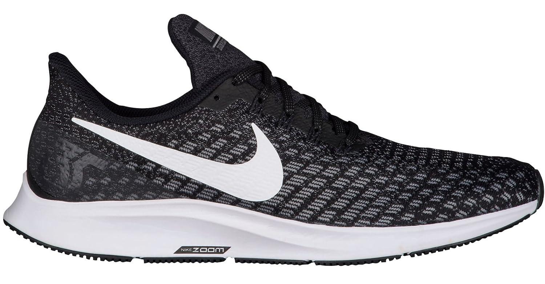 Nike Herren Air Zoom Pegasus 35 (w) Laufschuhe, Mehrfarbig (schwarz Weiß Gunsmoke Oil grau 001), 45.5 EU