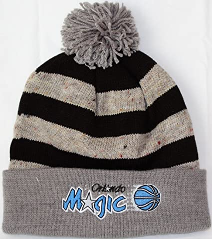 """9fd683f4d504e2 Image Unavailable. Image not available for. Color: Orlando Magic Mitchell & Ness  NBA """"Speckled Crown"""" Cuffed Knit Hat ..."""