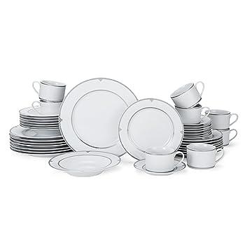 Mikasa Regent Bead 40-Piece Porcelain Dinnerware Set