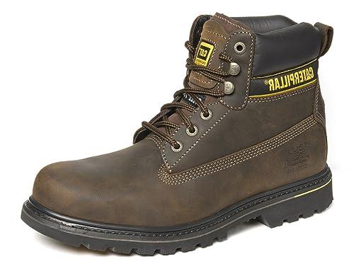 Caterpillar Hombre Holton piel Goodyear welted seguridad Boot: Amazon.es: Bricolaje y herramientas