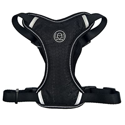 LILY VALLEY Best Front Range Dog Harness Car Safety Vehicle Pet Harness Outdoor Adventure Pet Vest Harness