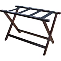 Casual Home Heavy Duty 30″ Extra Wide Luggage Rack-Espresso 2 Pack