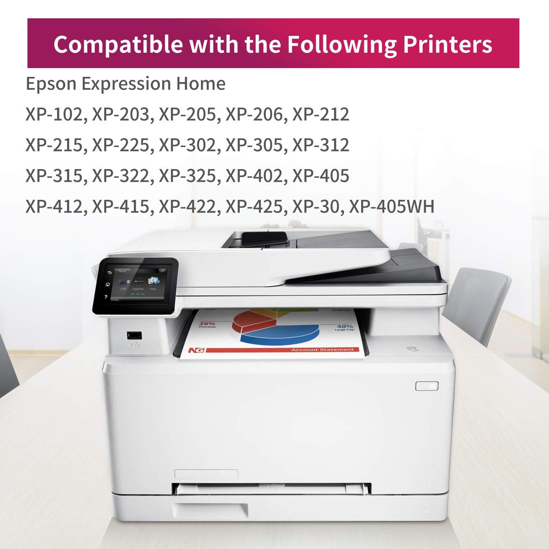 Uoopo Reemplazo para cartuchos de impresora Epson 18XL 18, XP-205 ...