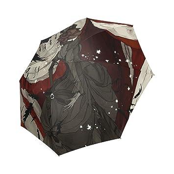Personalizado el circo de noche Custom plegable sol lluvia paraguas
