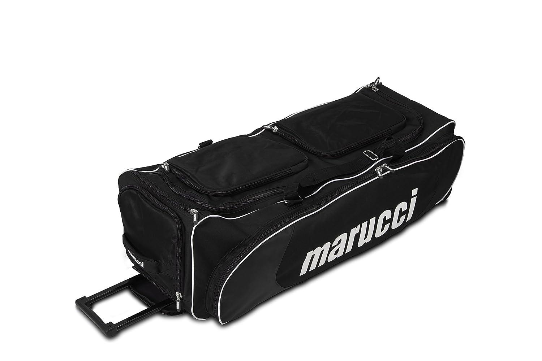 Marucci 2014 Wheeled Gear Bag B00LQF0RG0 ブラック ブラック