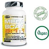 BCAA 8:1:1 Aminoacidi ramificati | potenziati con Glutammina Peptide e Vitamine del gruppo B | 400 Compresse 540 gr| Nuova formulazione con rapporto 8:1:1 (8 leucina, 1 Isoleucina, 1 Valina) | Aumento e recupero Massa Muscolare |
