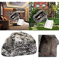 Vacally 1x Key Rock Hider Fake Rock Artificial Stone Key Hider Hide A Spare Key Rock for Home & Garden Decor