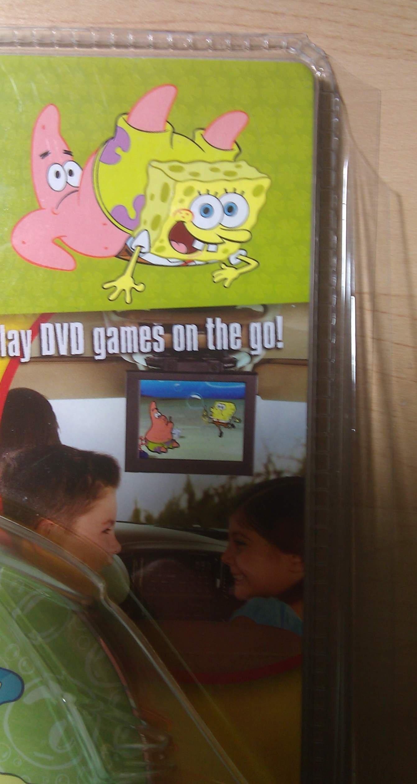 Nickelodeon Car-Go Fun: Spongebob Squarepants DVD Travel Game