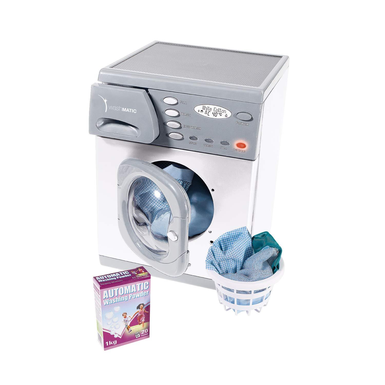 Casdon Electronic Toy Washer Grey, 3 items
