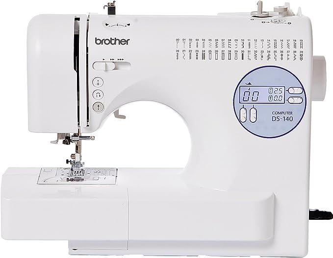 Brother DS-140 - Máquina de Coser (Blanco, Costura, 1 Paso ...