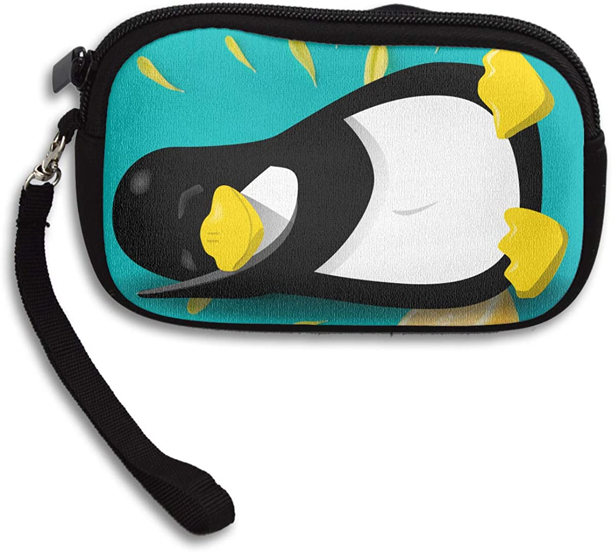 Youre My Penguin Deluxe Printing Small Purse Portable Receiving Bag
