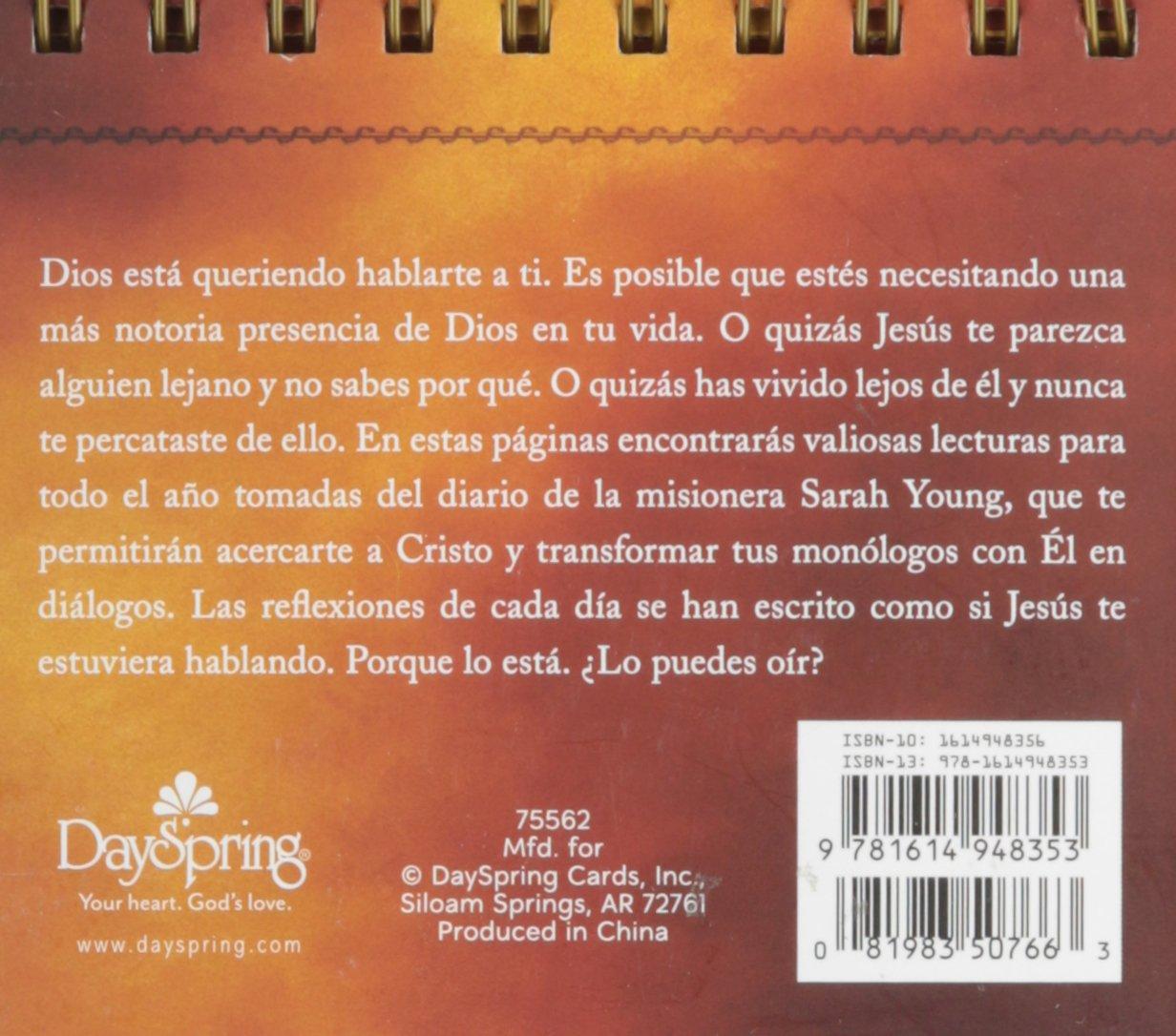 Amazon.com : DaySpring Sarah Young's Spanish Jesus Calling - Jesus Te Llama  DayBrightener Perpetual Flip Calendar, 366 Days : Office Products