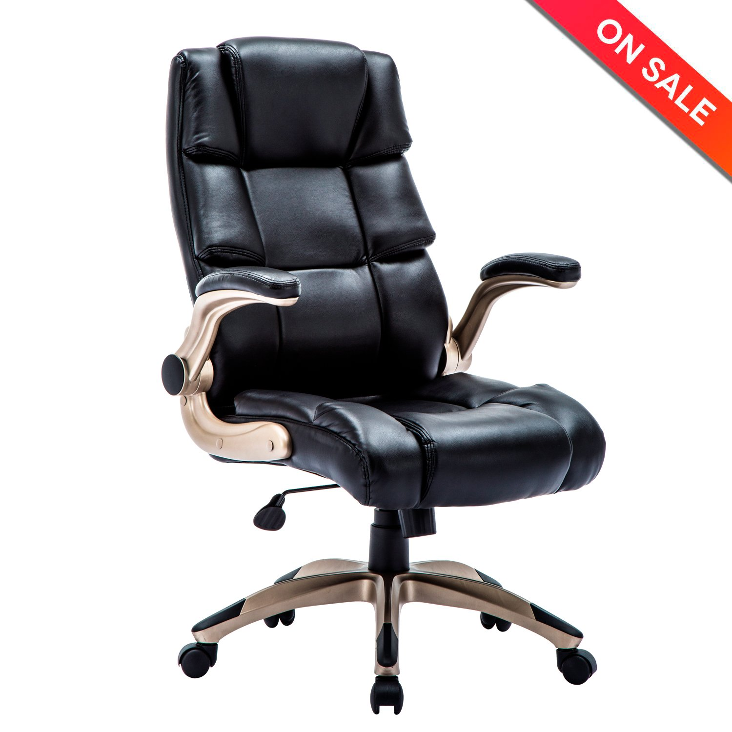 Amazoncom Lch Ergonomic High Back Leather Office Chair  Adjustable