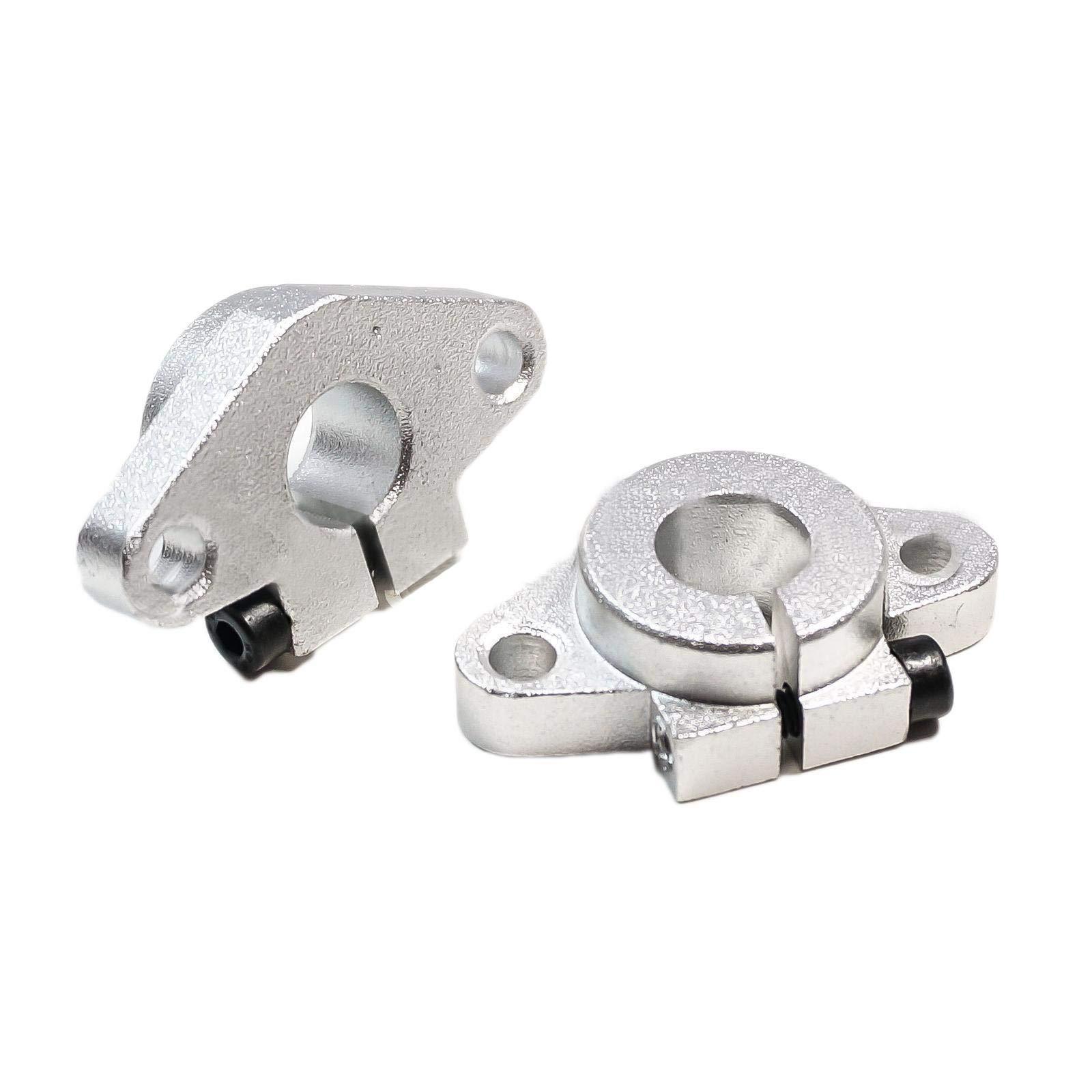 4pcs Aluminum SHF16 16mm Linear Rod Rail Shaft Support Motion CNC Route