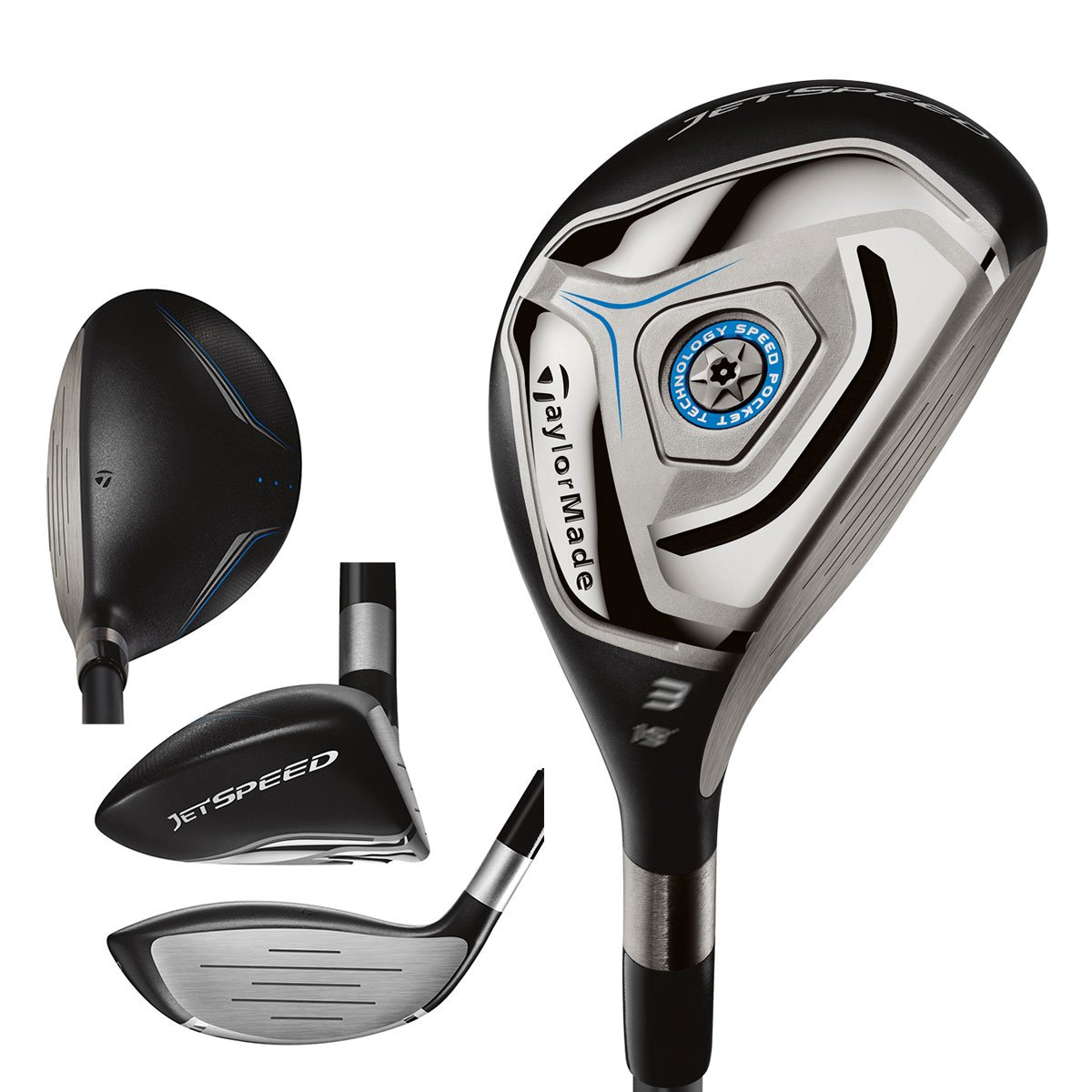 Taylor Made Hybrids Jet Speed Rescue - Palos de golf: Amazon ...