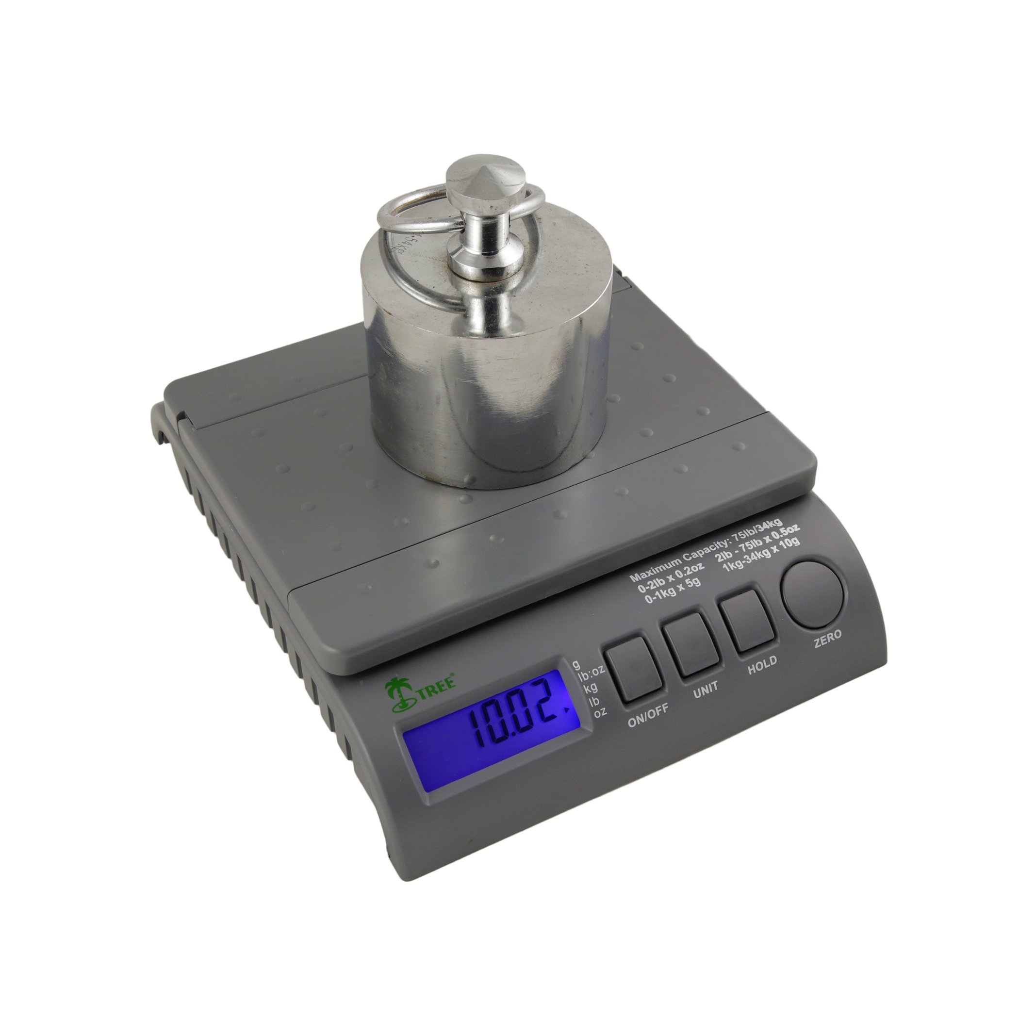 Digital Postal Shipping Postage Bench Scales 35 lbs by LW Measurements, LLC (Image #3)