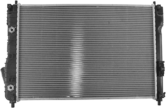 Radiator Assembly Aluminum Core Direct Fit for Chevy Buick Pontiac Oldsmobile