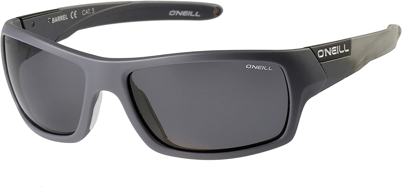Oneill ONS Barrel Polarised Sunglasses - Matt Grey/Solid Smoke ...
