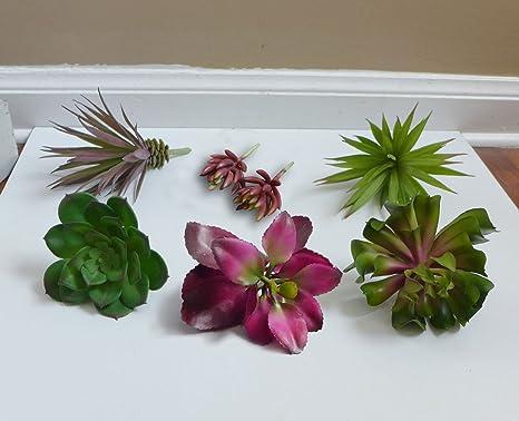 Suculenta Artificial Plantas realista plástico flores decoración falsa restaurante Home Garden Decor Oficina café tiendas Craft