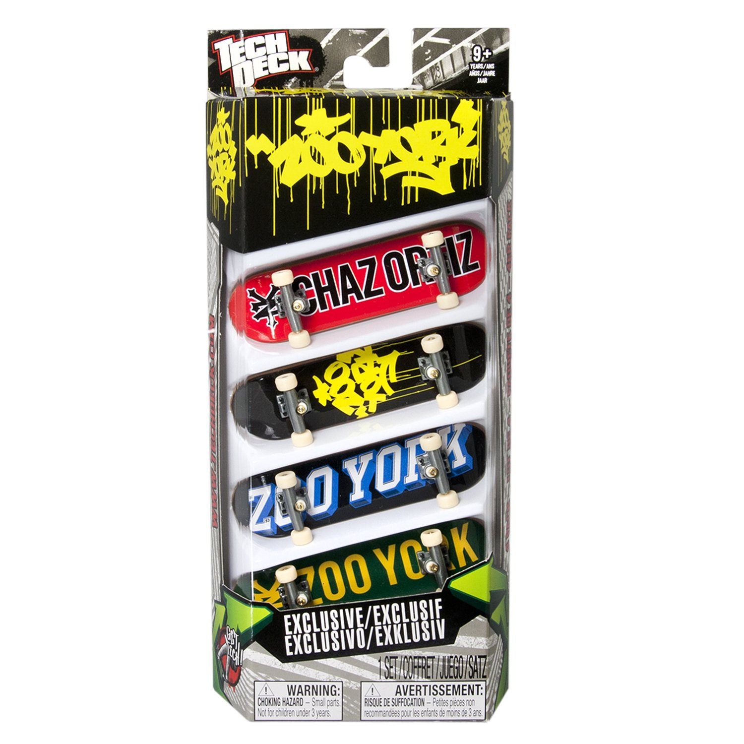 Tech Deck 96MM Fingerboards 4 Pack (Styles vary) by Spin Master (Image #4)