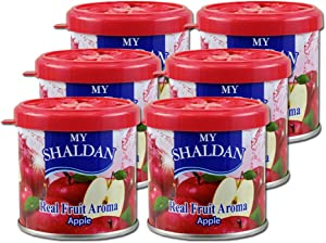 My Shaldan Air Freshener Apple Scent (D41AP) - Quantity 6 Cans