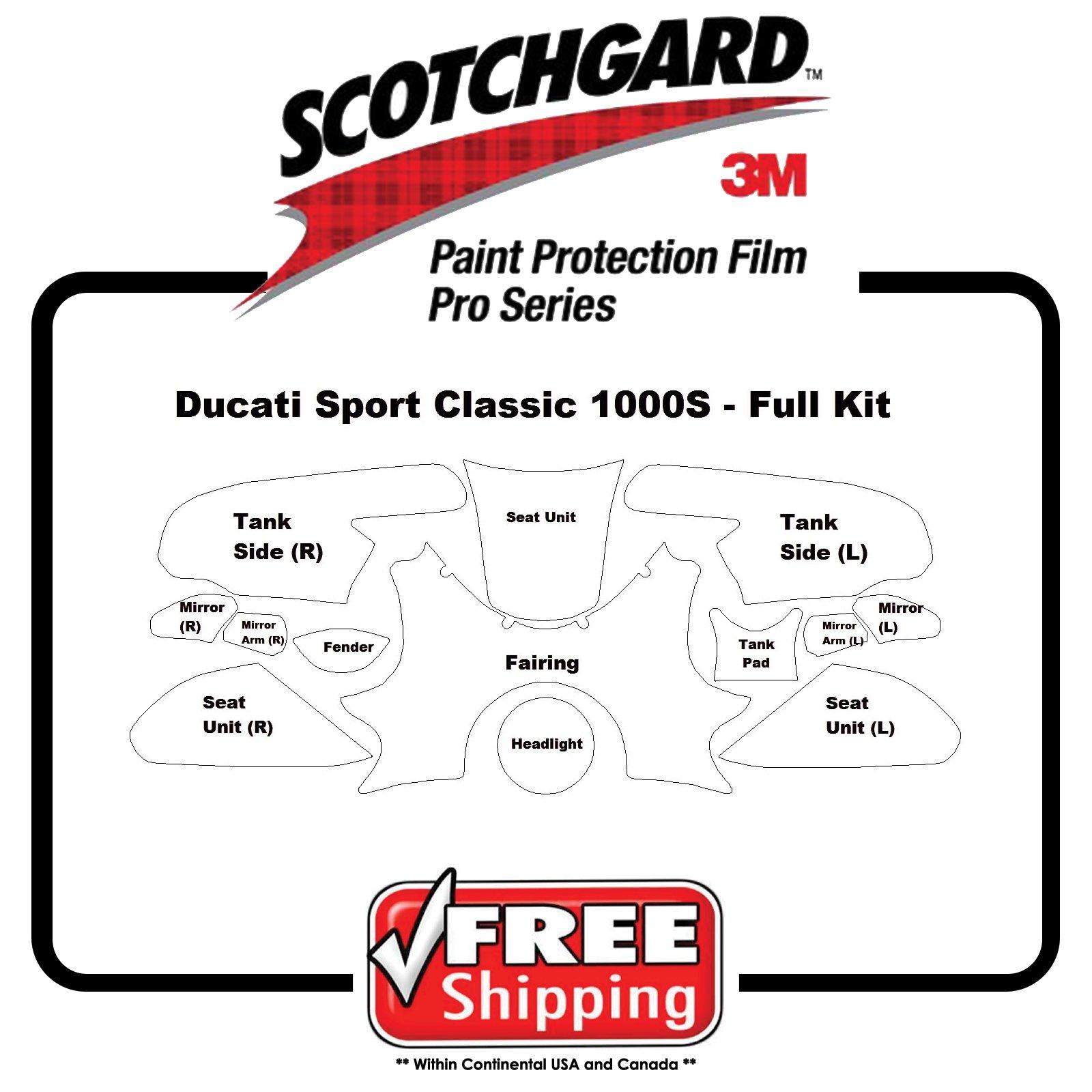 Kits for Ducati Sport Classic 1000s - 3M 948 PRO SERIES - Paint Protection by PrintsnPlots