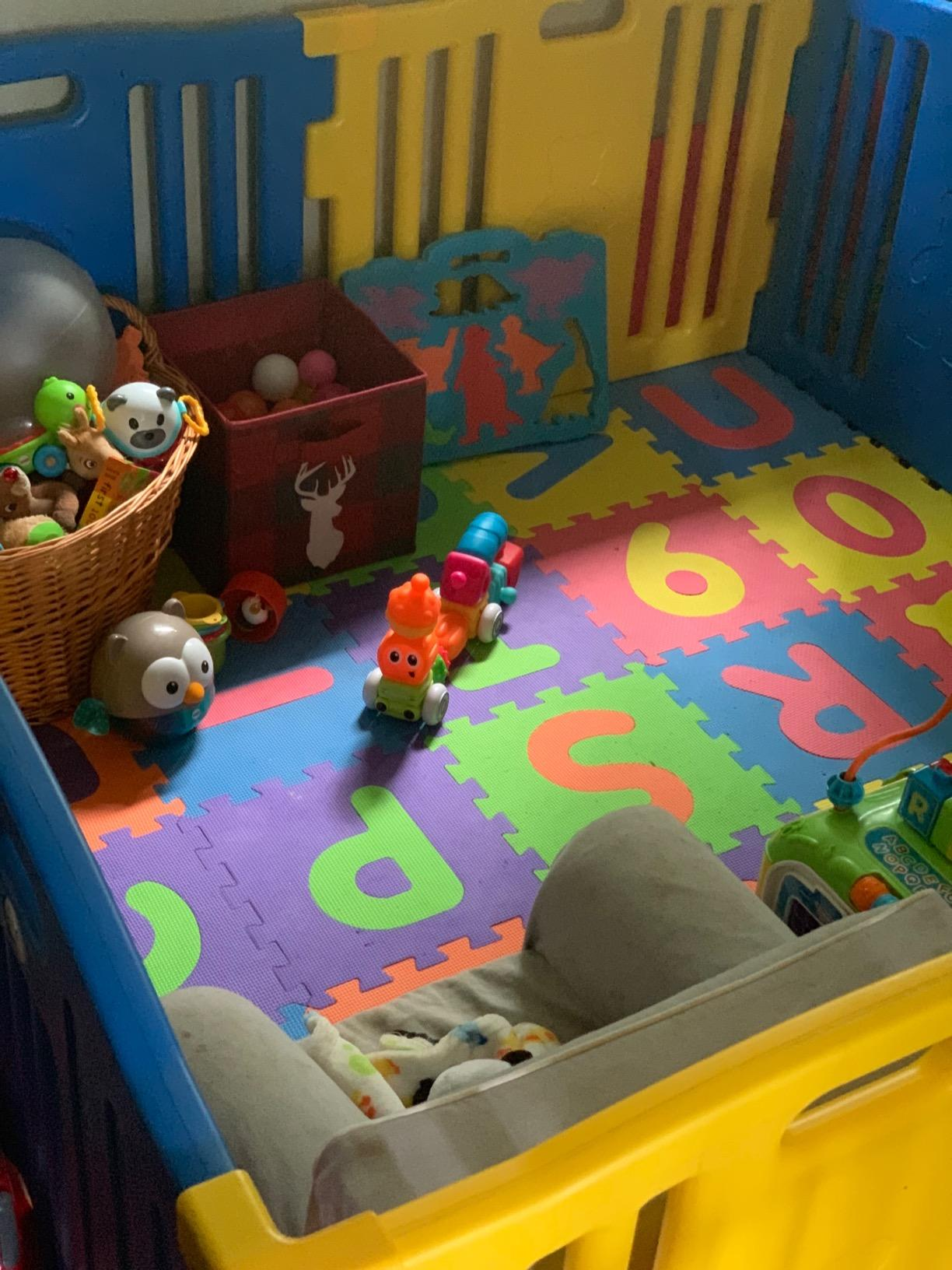 Large Baby Playpen 10 Panel Play Yard photo review