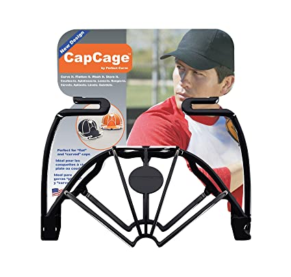 Perfect Curve Cap Washer (Black) - hat Washer - Baseball hat Cleaner -  Baseball Cap Cleaning hat Rack - New Patented Design for Flat or Curved  caps - for ... 4708b7af8418