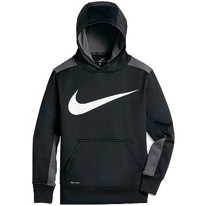71fd9c48 Buy Nike Therma Big Kids' (Boys') Training Hoodie (Small, Black/Dark ...
