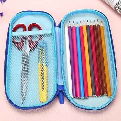 bengpAo77 - Estuche de goma EVA para lápices y bolígrafos (tamaño pequeño), color Pencil case-B: Amazon.es: Oficina y papelería