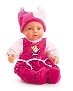 Amazon.es: Bayer Design 94682AA Muñeca - Hello Baby Muñeco bebé con accesorios, Modelos/colores Surtidos, 1 Unidad: Juguetes y juegos