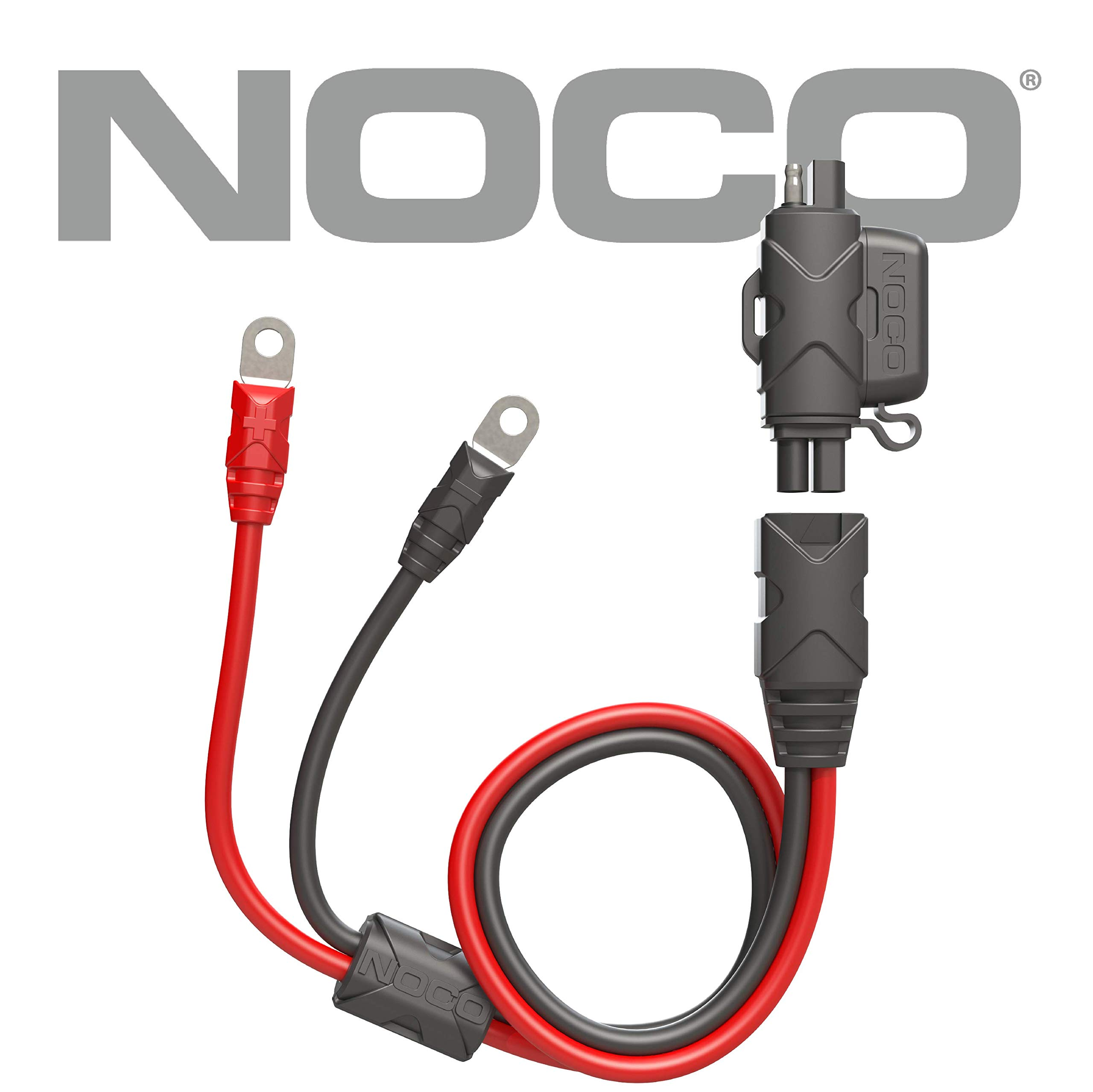 NOCO Boost GBC009 Eyelet Accessory Cable Adapter to Allow Charging with SAE Battery Chargers by NOCO