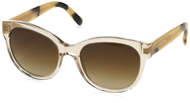 59f0bcb7a5 Burberry Women s BE 4187 Cateye Sunglasses