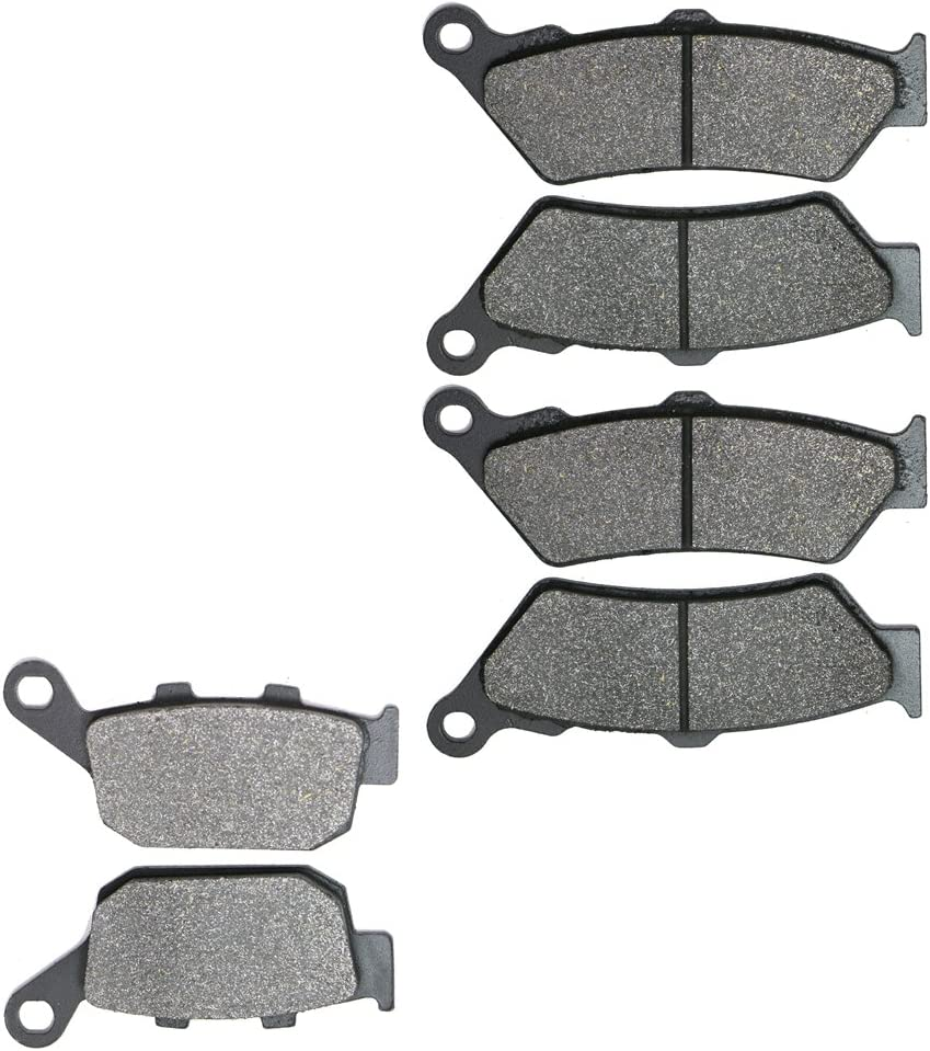 2 Pads R/ückseite Gesintertes Double-H Bremse Pad fit for Street NT650 NT 650 V Deauville 98 99 00 01 1998 1999 2000 2001 1 Pair