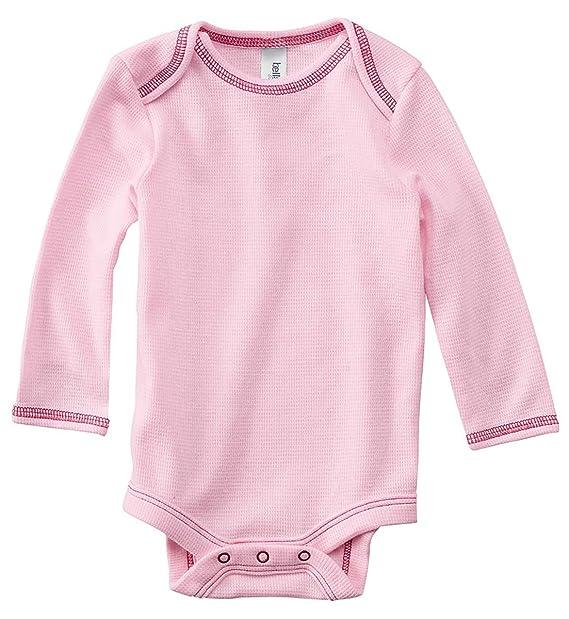 a4ab54b2df3b Amazon.com  Bella Canvas Infant Long-Sleeve Thermal One-Piece - SOFT ...