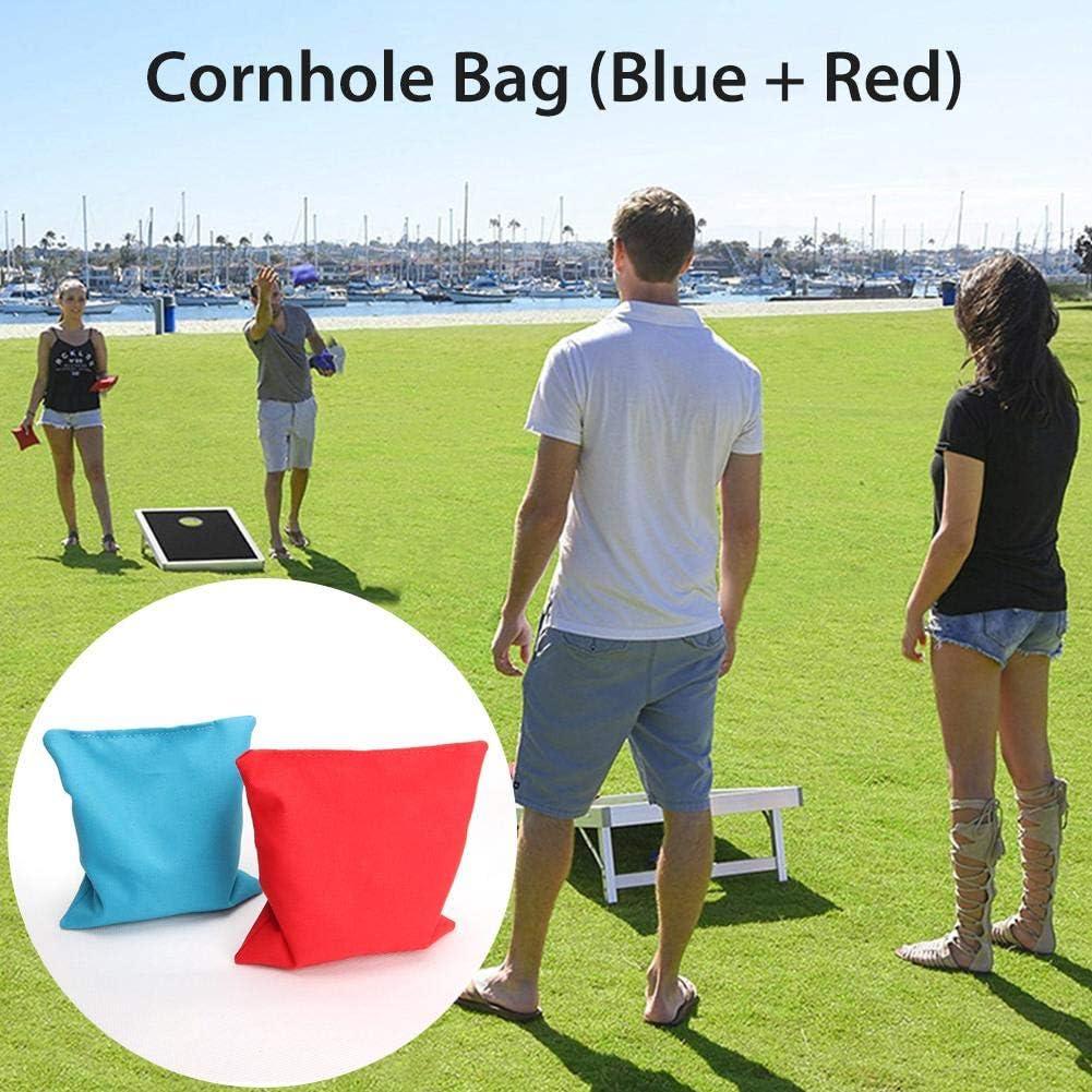 Bean Bag Toss Game 12x12cm Bean Bags Kids Throwing Cornhole Cloth Bags Training Equipment For Outdoors Corn Hole Game Lancei 8PCS//16PCS Cornhole Bean Bags Set