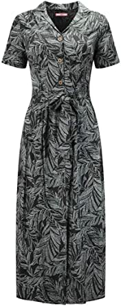 Joe Browns Women's Leafy Shirt Dress Casual