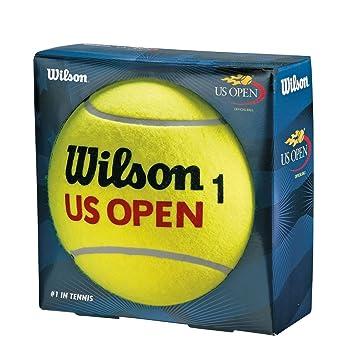 WILSON US Open Jumbo Ball Pelota-Unisex, Amarillo, NS: Amazon.es: Deportes y aire libre